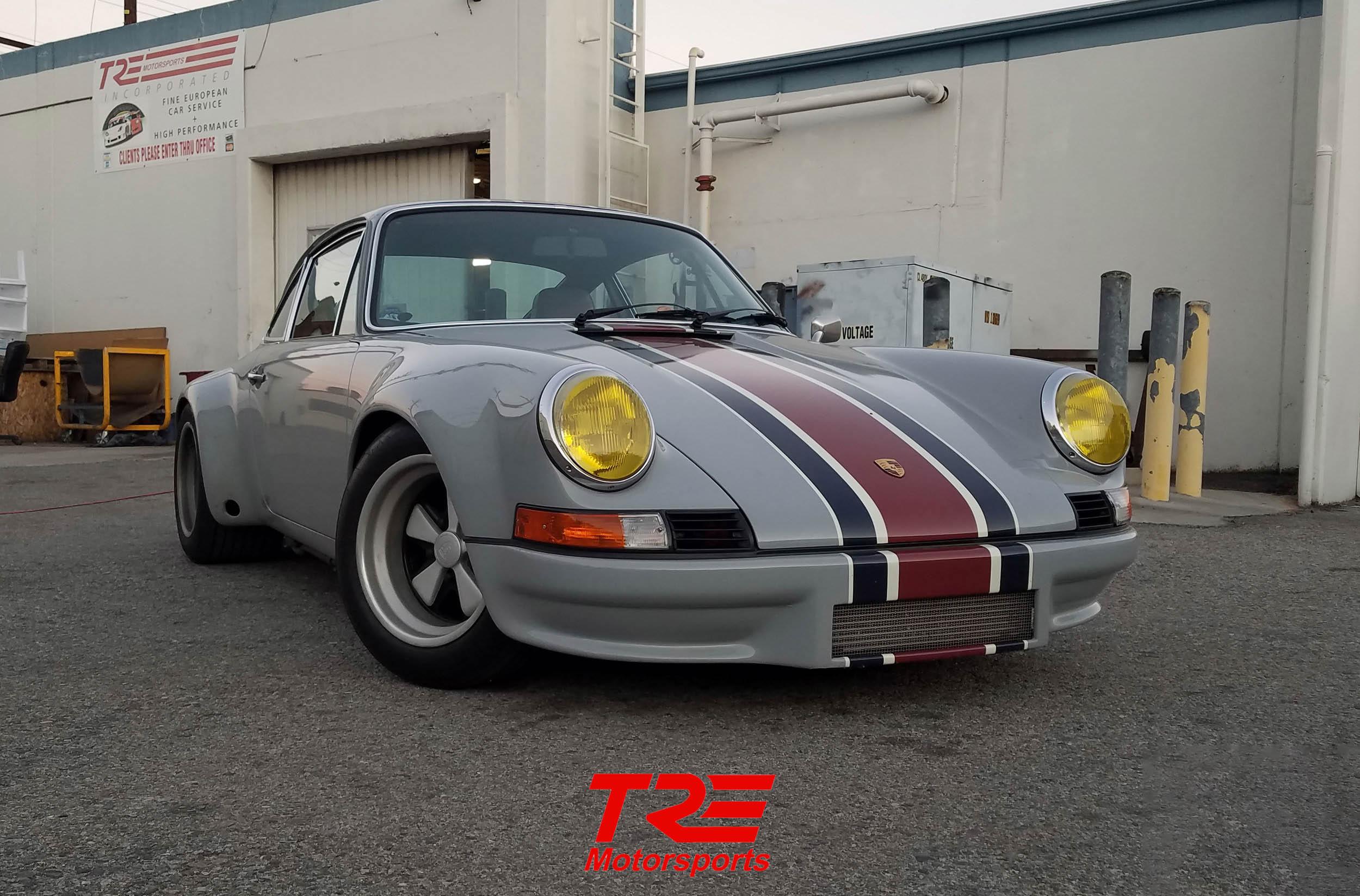 Porsche 911 912 69-73 Rear Bumper Deco Assembly Non S-Narrow