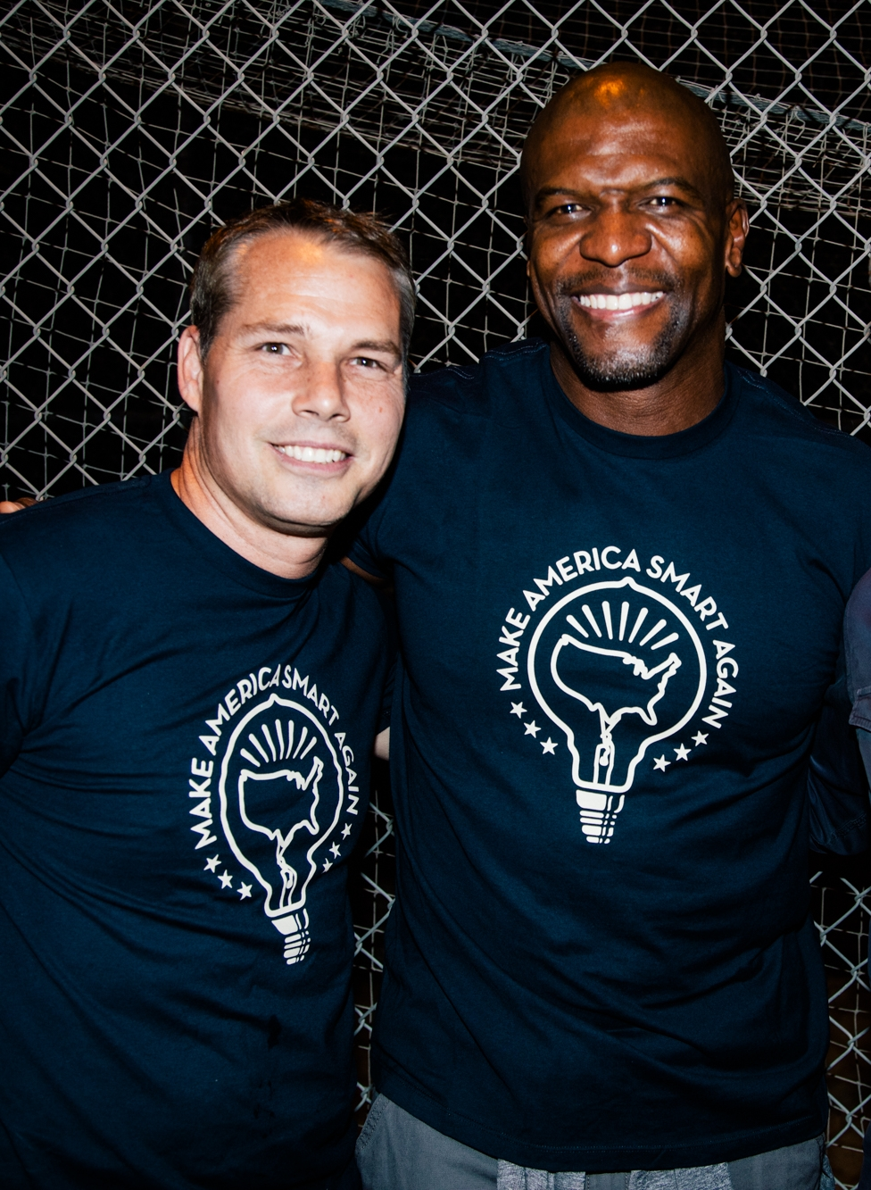 Shepard Fairey and Terry Crews