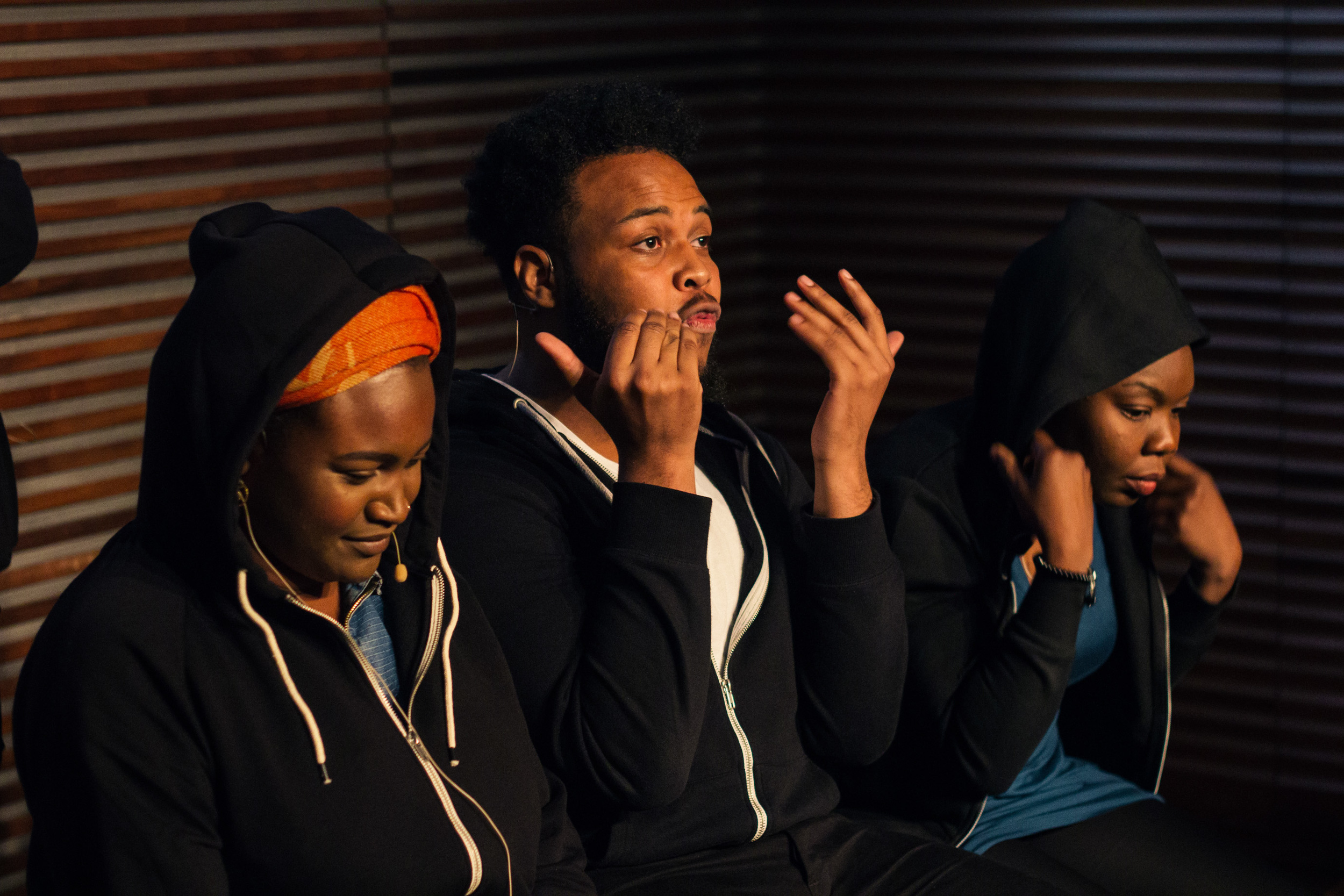 ILÉ LA WÀ ( a poetry- theatre production)    Saturday 12 November, 7.30pm @Contact Oxford Road Manchester, M15 6JA   TICKETS: £11/6 conc  BUY TICKETS AT 0161 274 0600 |  www.contactmcr.com/homeis    On the morning, the government unleashes controversial Go Home buses on the streets of London, random spot checks take place across the city and several individuals are held pending verification of their identity.    4 strangers who call England home are detained together. As their frustration builds, they speculate about their predicament and are forced to interrogate what it means to be British in the 21st century.    Ilé la Wà, Yoruba for 'We are Home', takes the audience on a funny, emotional and thought provoking rollercoaster ride of drama and poetry. Join us as we explore what it means to insist we are home, when daily experience doesn't reflect the sentiment.   Ilé la Wà is written by Tolu Agbelusi, directed by award winning Sarah Meadows and includes poetry from acclaimed poets Tshaka Campbell, Russenï Fisher, Jemilea Wisdom Belinda Zhawi and Tolu Agbelusi. Actresses, Flo Wilson and Rudzani Moleya will join Tolu and Russenï for the performance of this piece.  This is a production of the Home Is… project presented by Tolu Agbelusi, generously funded by the Arts Council England and supported by Apples and Snakes and Counterpoint Arts.