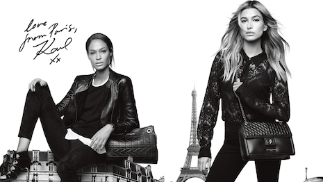 Image from Karl Lagerfeld Paris' fall 2016 campaign