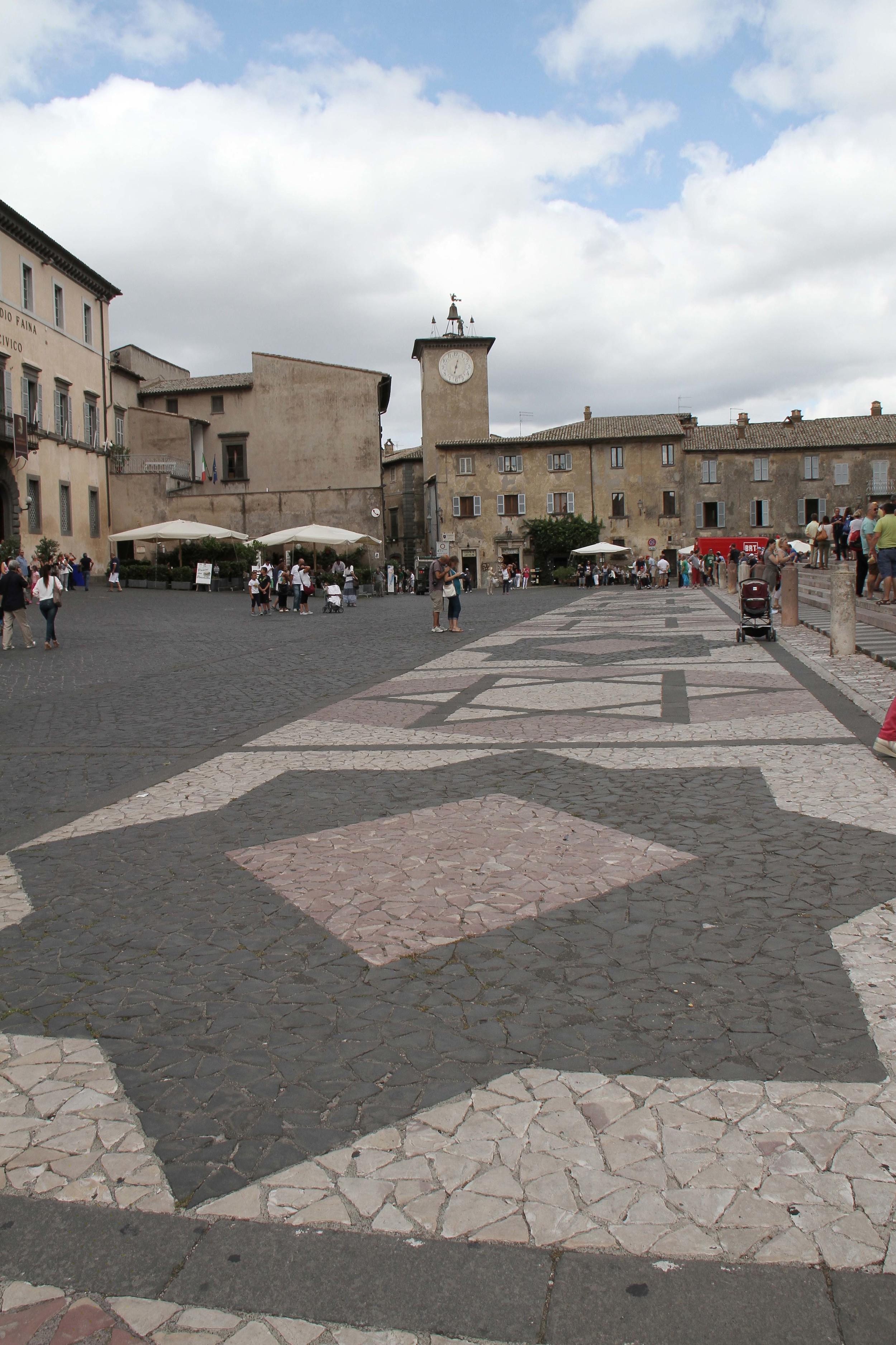 Orvieto plaza
