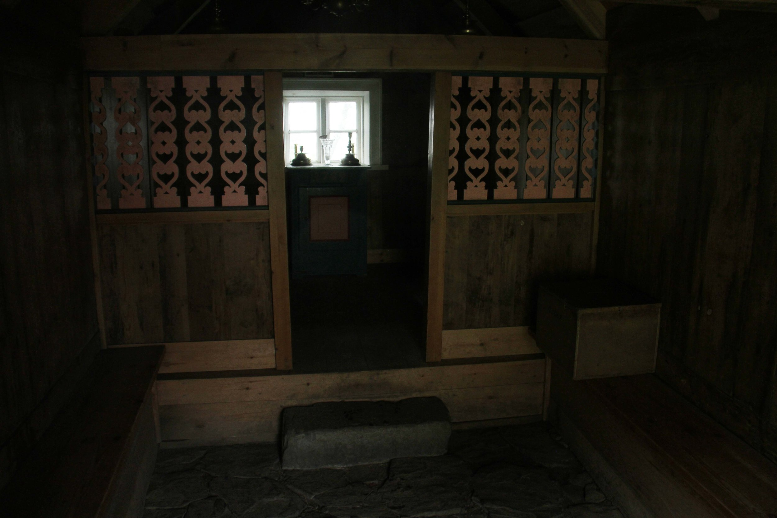 Nupsstadur church interior
