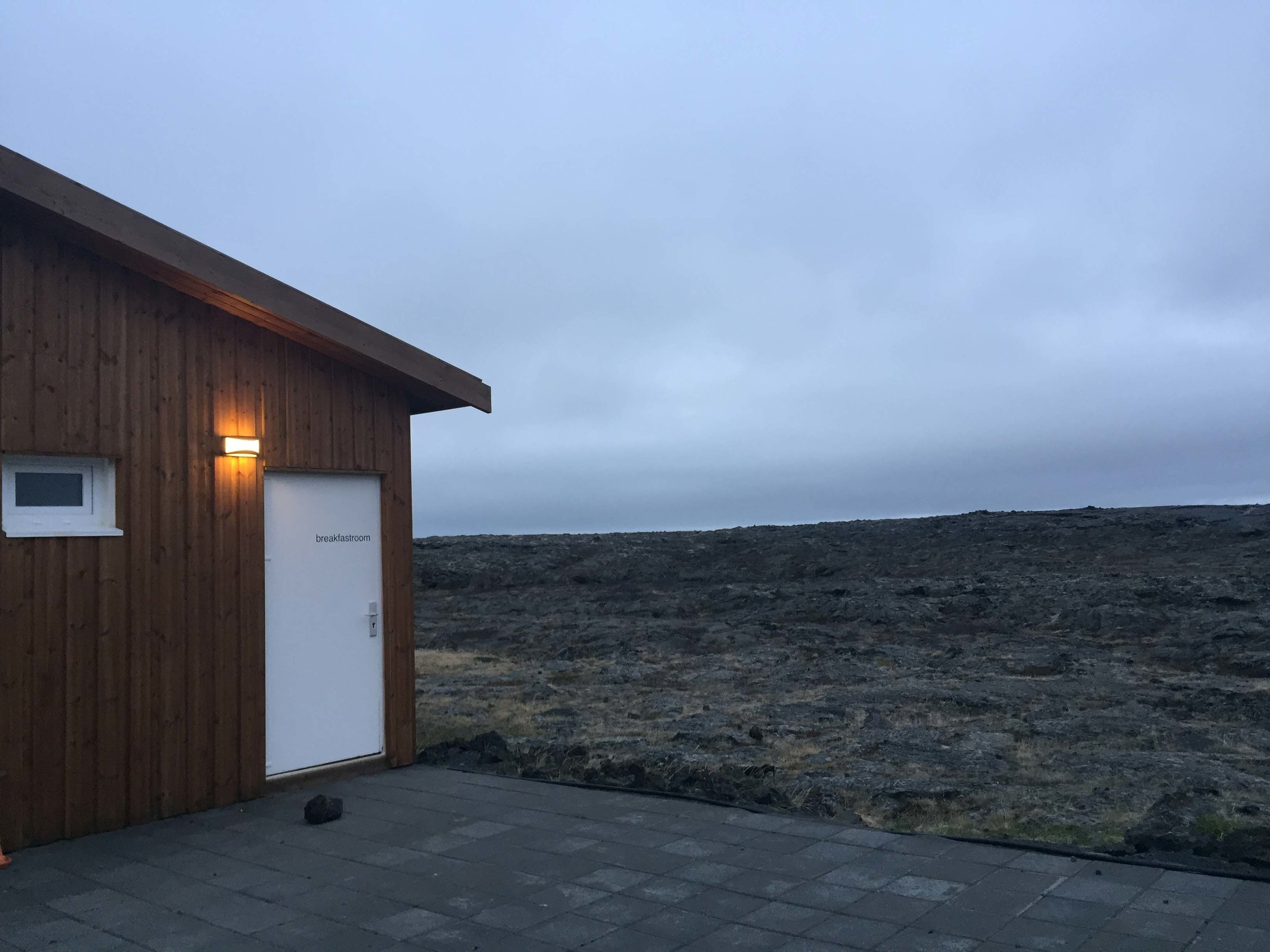 Lunar terrain Iceland