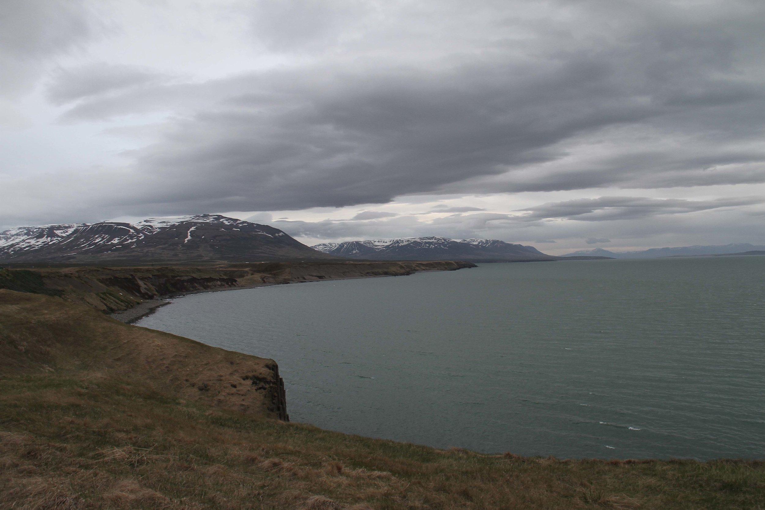 West Iceland sea