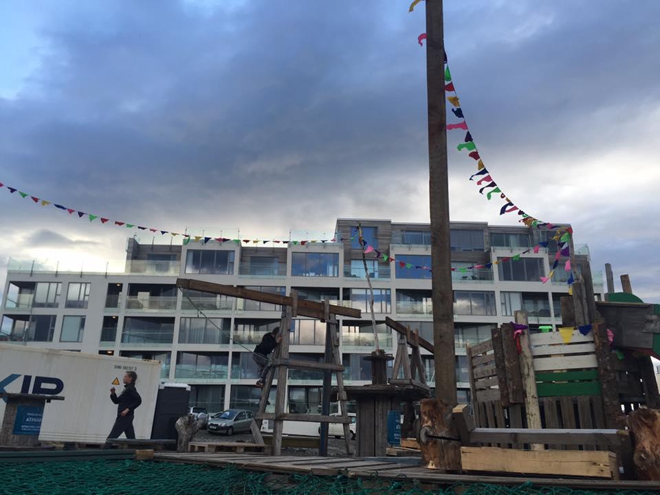 Reykjavik trash playground