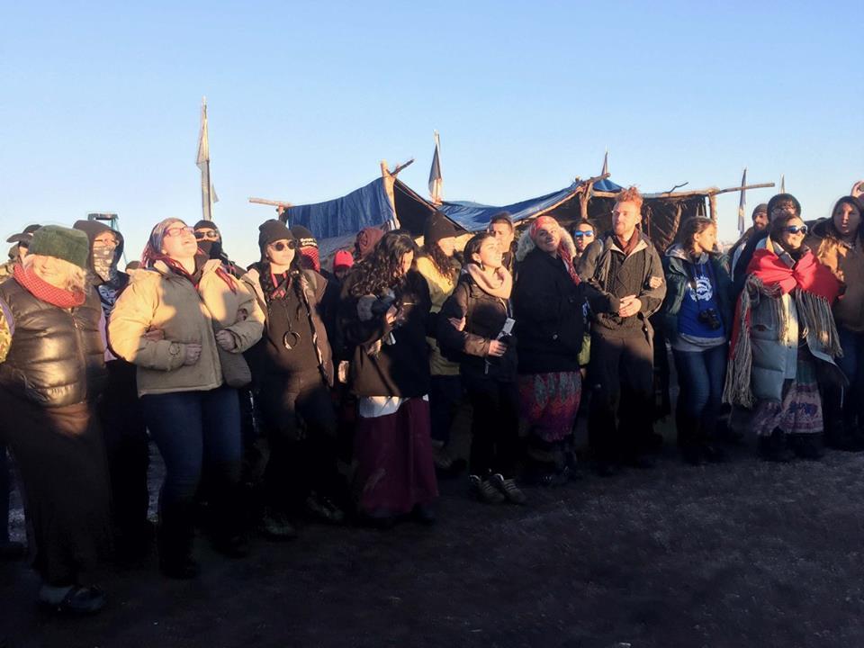 Standing Rock celebration