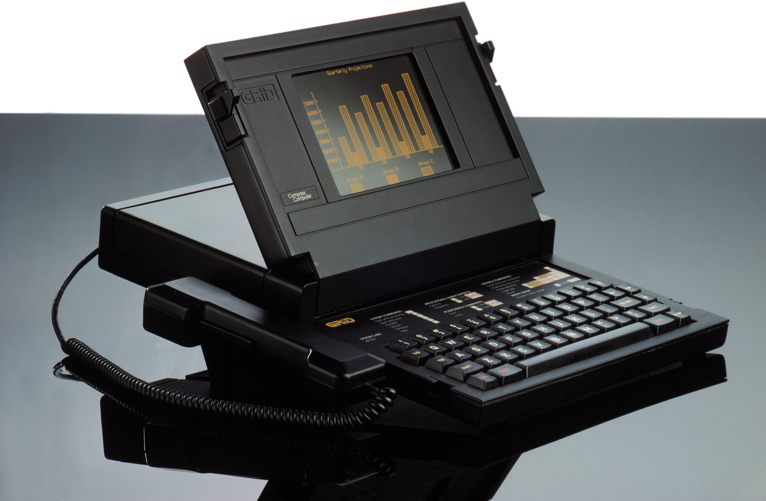 The GRiD Compass, the First Laptop