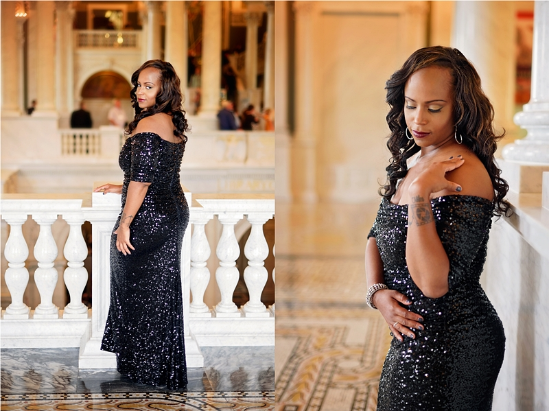 Arminta dazzled in this gorgeous dress!