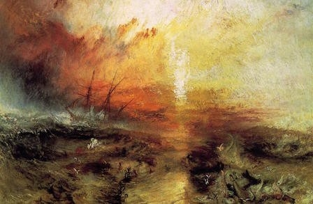 The Slave Ship (1840), by William Turner. Image Courtesy of the Museum of Fine Arts, Boston.