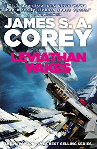 Today's text,  Leviathan Wakes by James S. A. Corey .