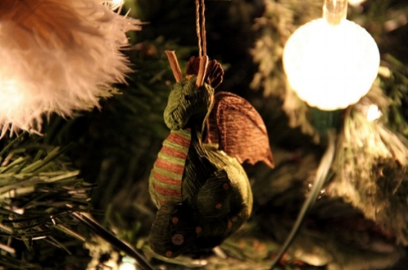 A dragon tree ornament. Just because.