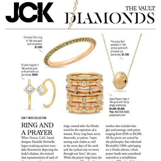 Thank you @jckmagazine for including us in The Vault Diamonds! One of my favorite descriptions of the collection in bio link with @vikavickyvictoria