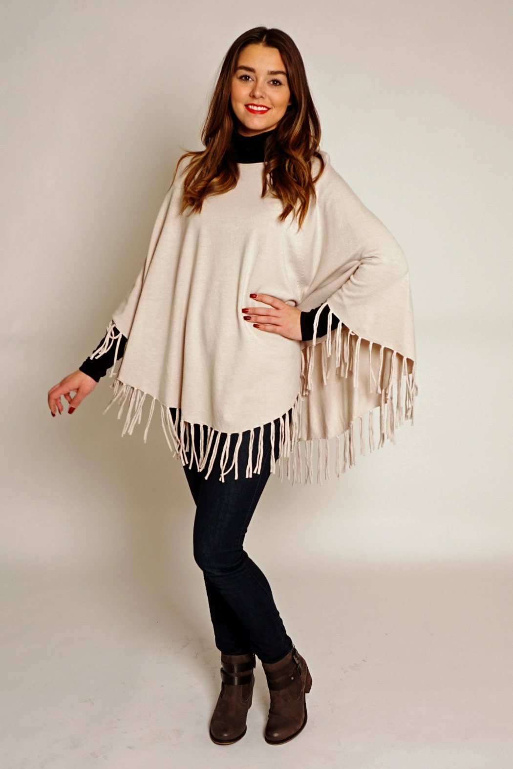 WE LOVE PONCHOS!  Pop into the store to check out our poncho selection and other cozy fall pieces. See you on Broadway and Main!