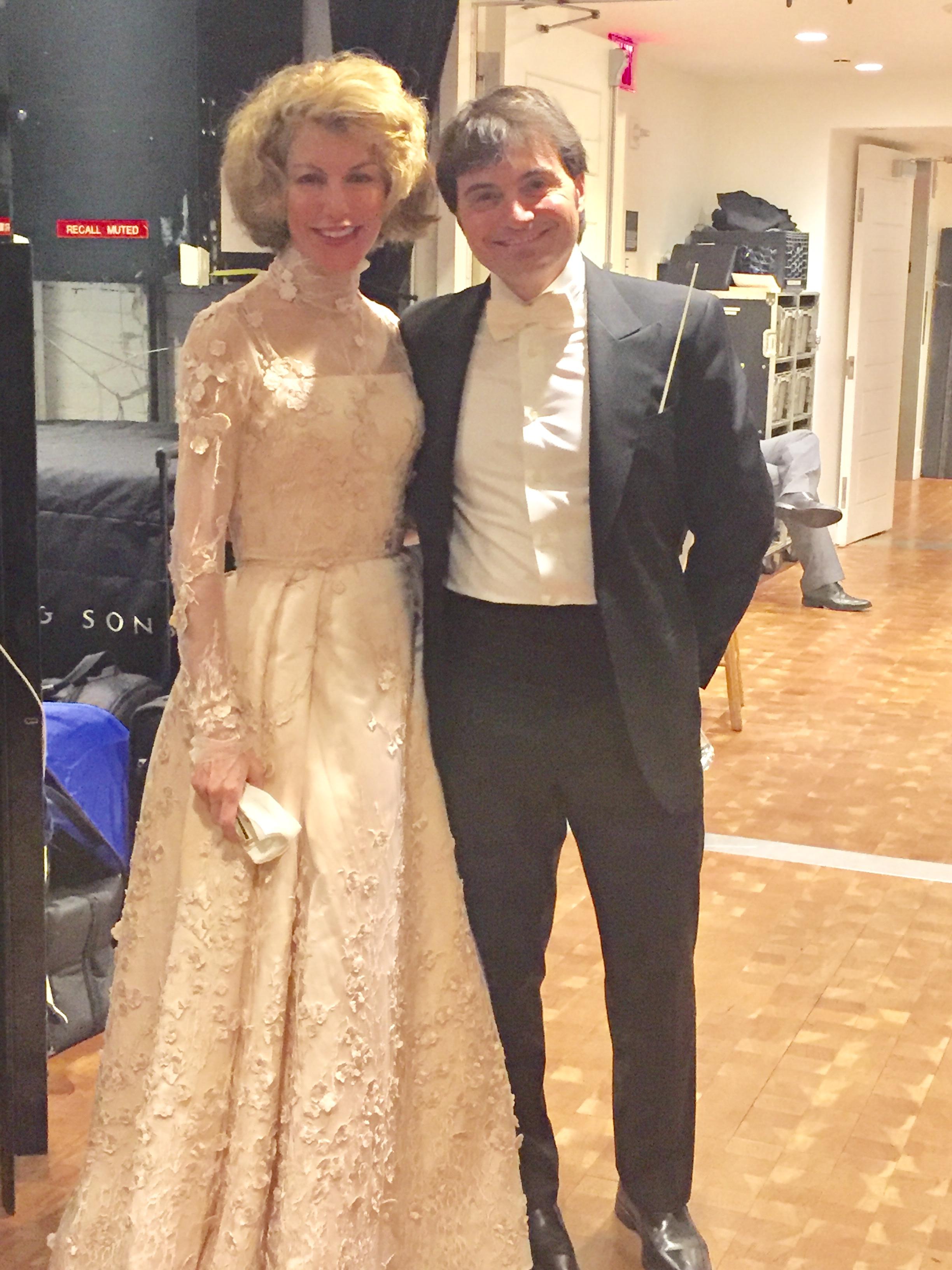 Lisa with Maestro Capocaccia