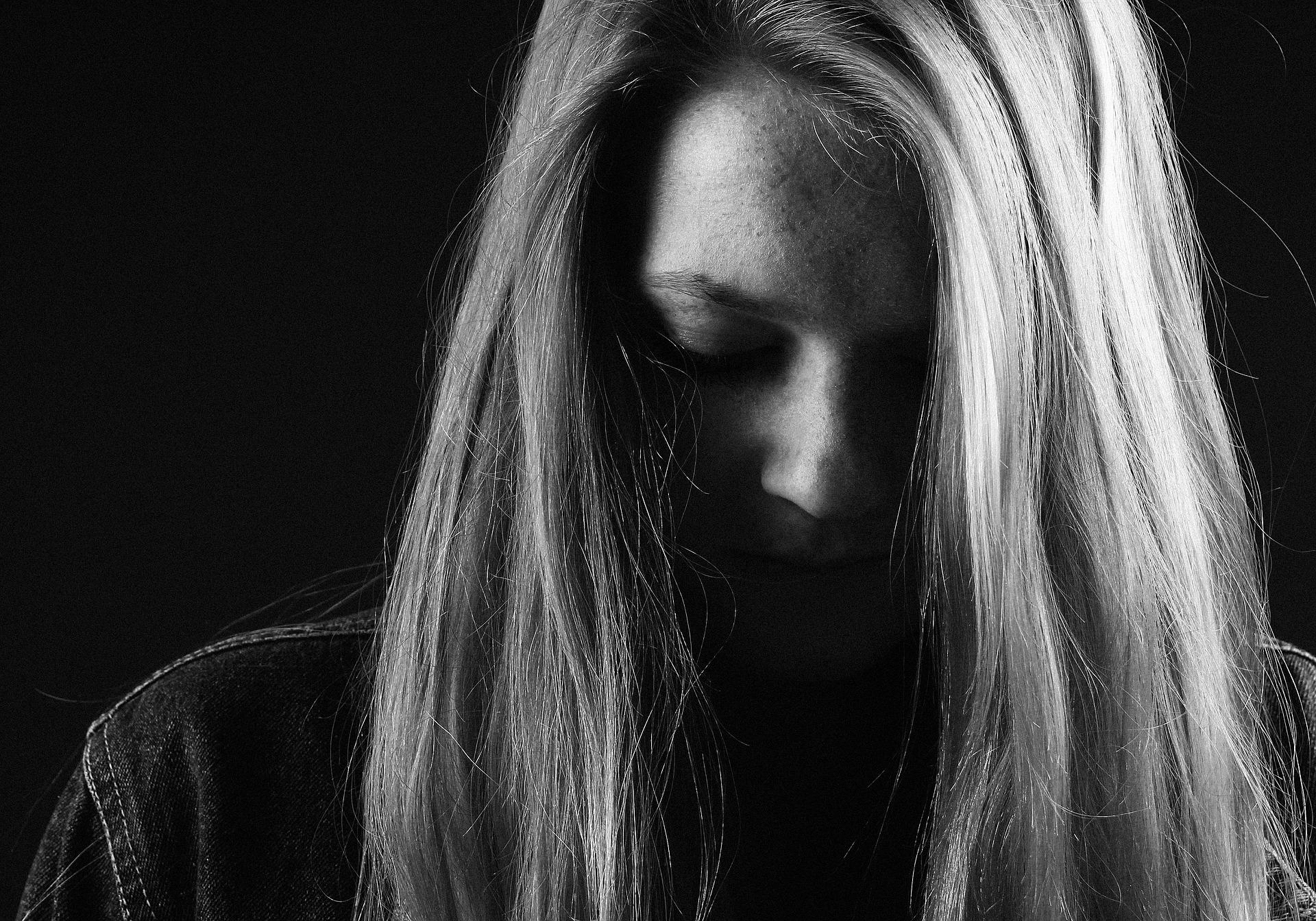 Girl Sadness  by Flachovatereza via Pixabay (Public Domain)