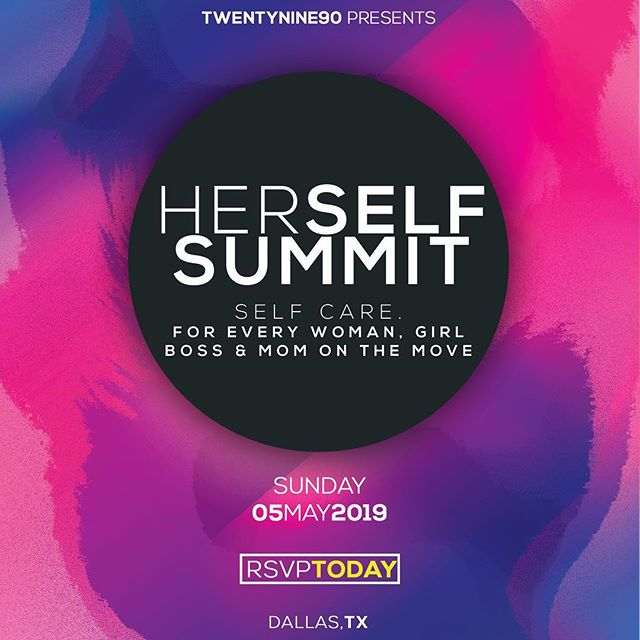 The HerSELF Summit is a event for every woman, Girl Boss & Mom on the go. Let's talk self care, balance and mental health. With amazing vendors, yoga and food for the soul- this is an event you do not want to miss! RSVP link in bio!🤗 #herselfsummit #girlboss #entrepreneurlife #youngprofessionals