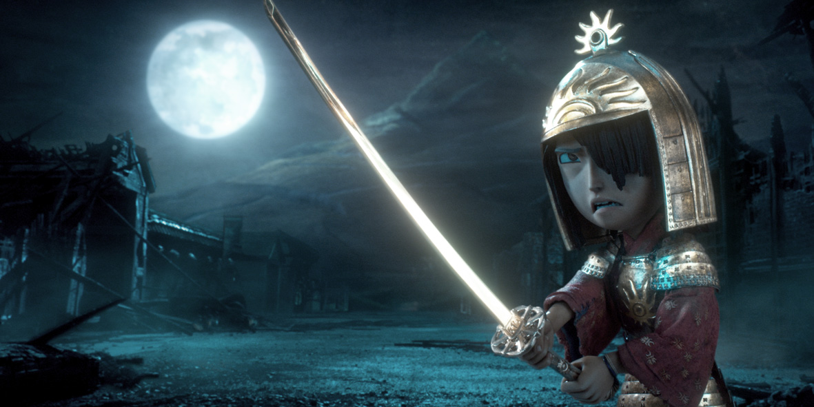 Kubo and the Two Strings Laika animated film directed by Travis Knight starring Rooney Mara and Charlize Theron