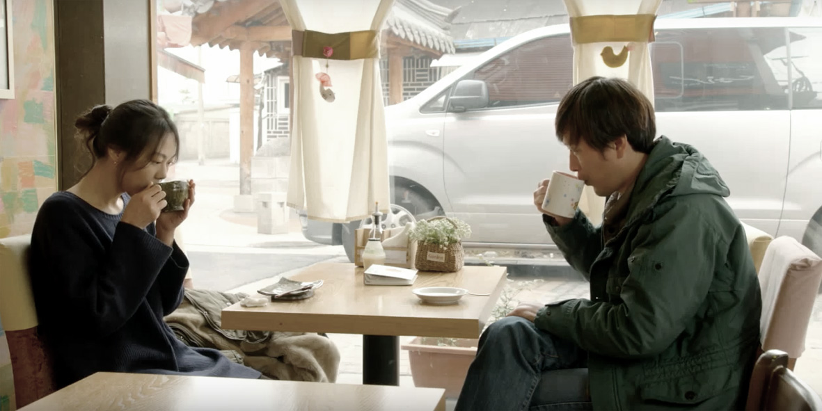Right Now Wrong Then directed by Hong Sang-soo starring Min-hee Kim and Jae-yeong Jeong