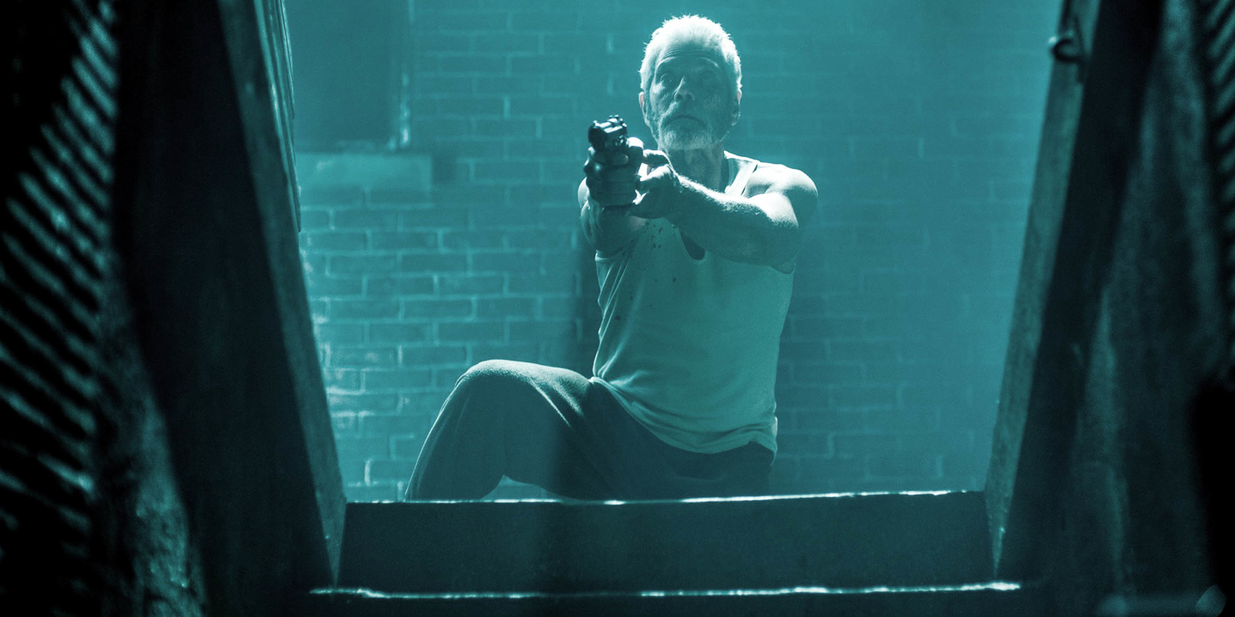 Don't Breathe a horror film by Fede Alvarez courtesy of Sony Pictures