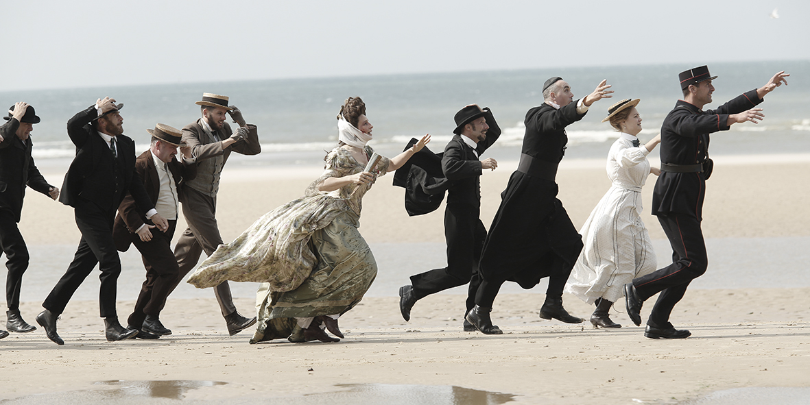 Slack Bay directed by Bruno Dumont starring Juliette Binoche from Cannes Film Festival 2016