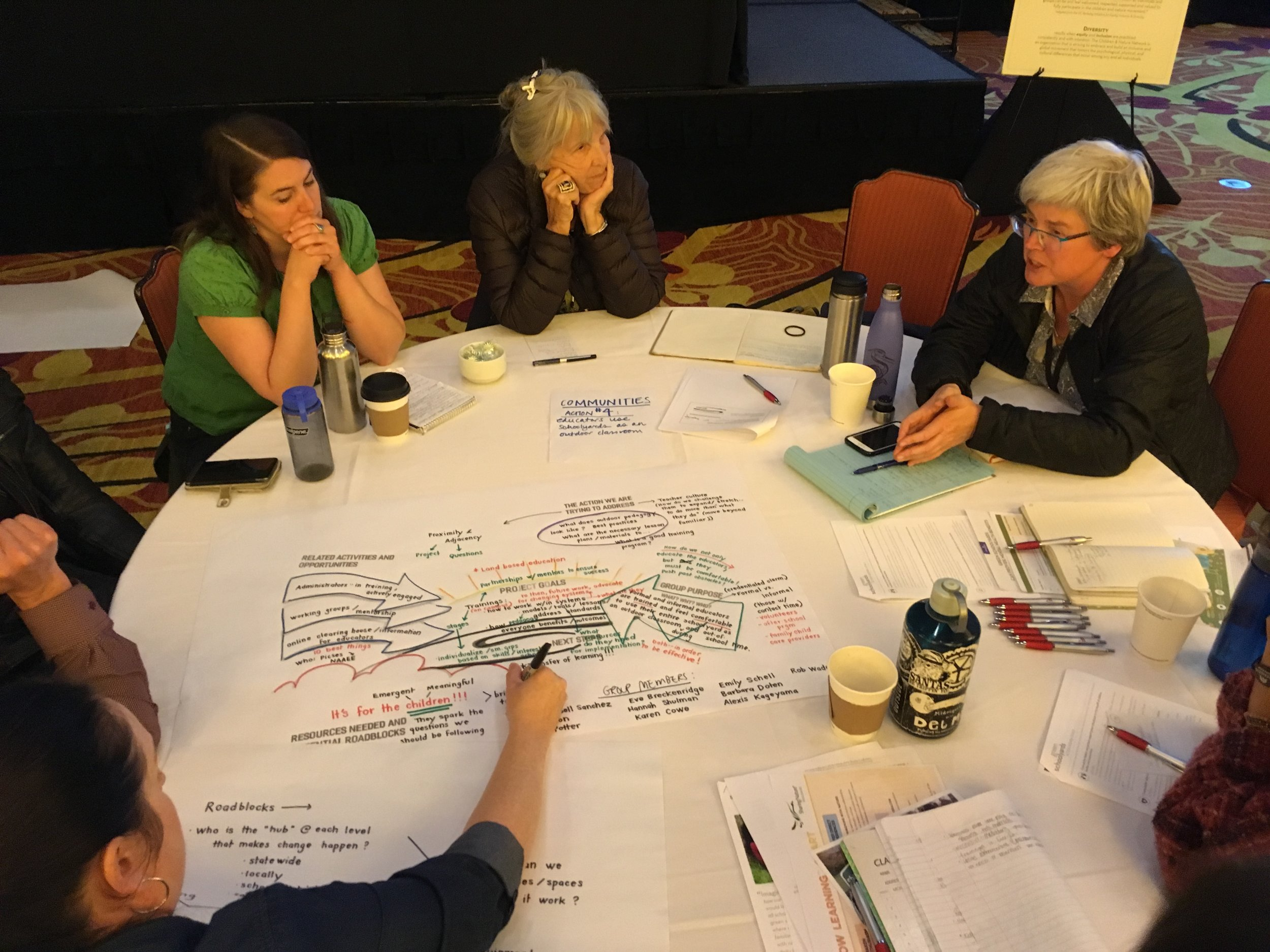 Children & Nature Network Leadership Summit - CGEP participated in the 2018 leadership summit's Green Schoolyards strand May 21-22, 2018, to promote educating in the outdoors as a way to improve student health and environmental literacy development.