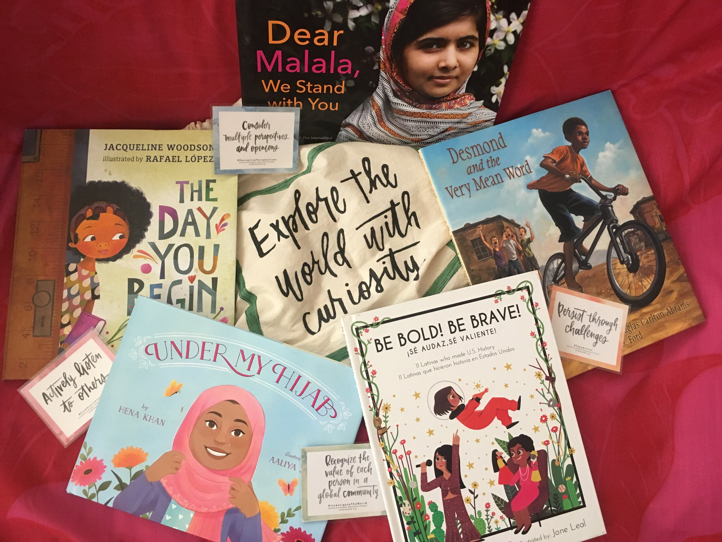 Global Stories for the Elementary Classroom - Are you looking for great books with global themes? Check out our book lists under Resources and consider our Global Book Bags program. Contact your Regional Director or Statewide Office for more information.