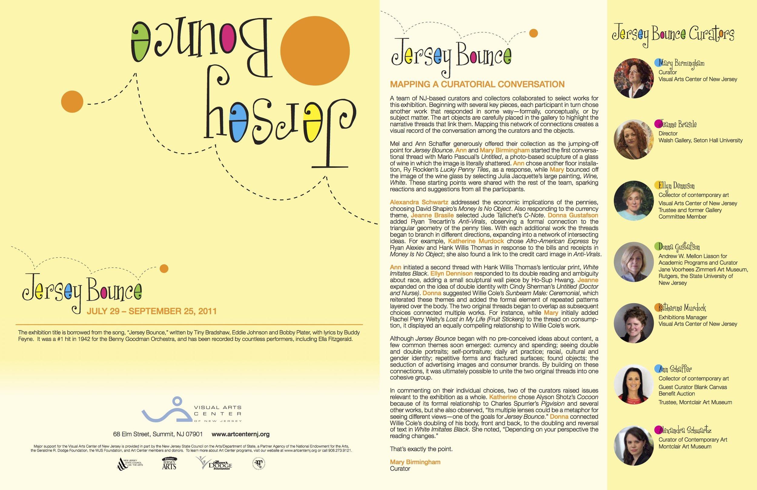 Jersey Bounce, brochure (outside)