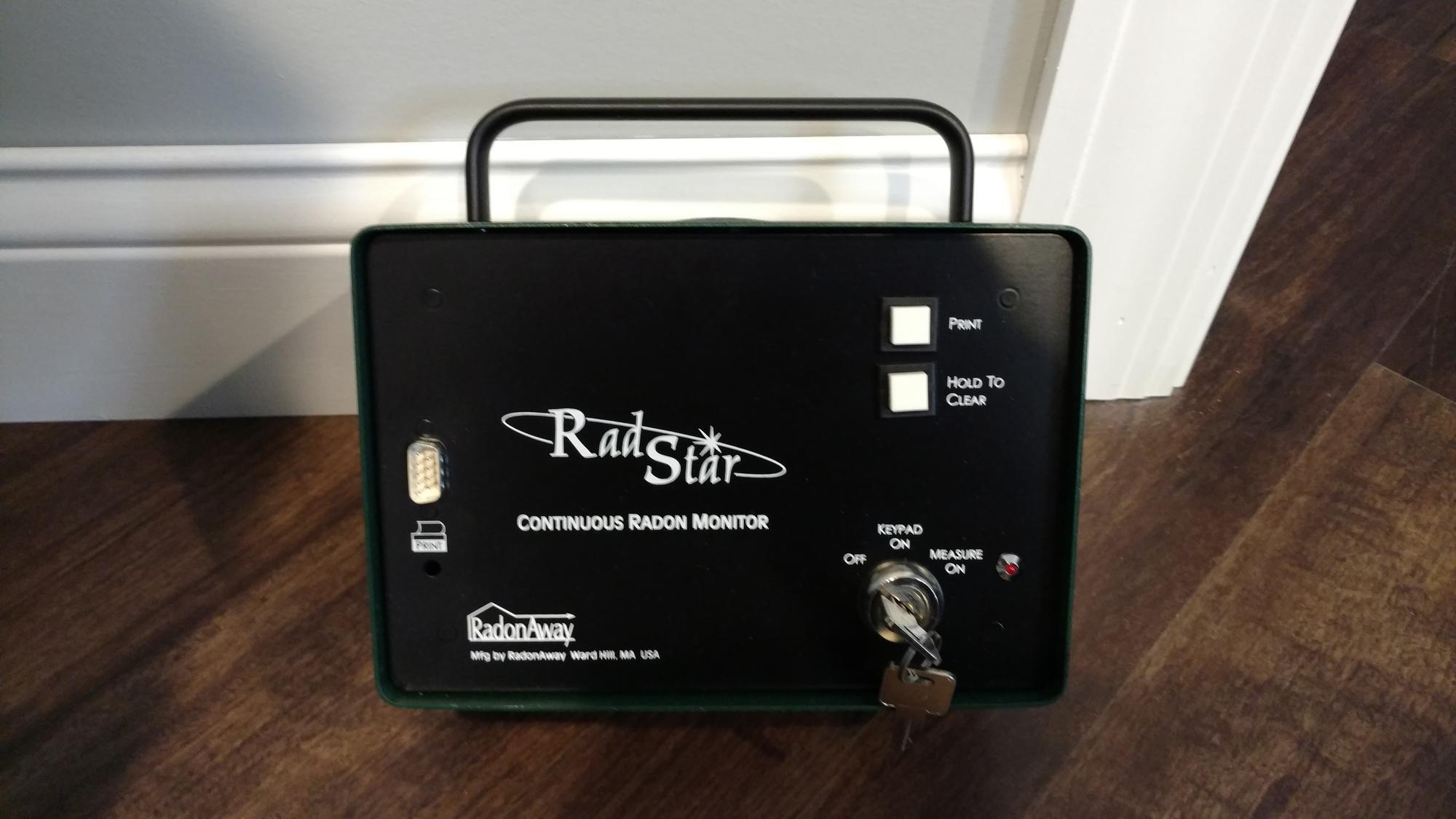 Radon Gas Testing Raleigh NC