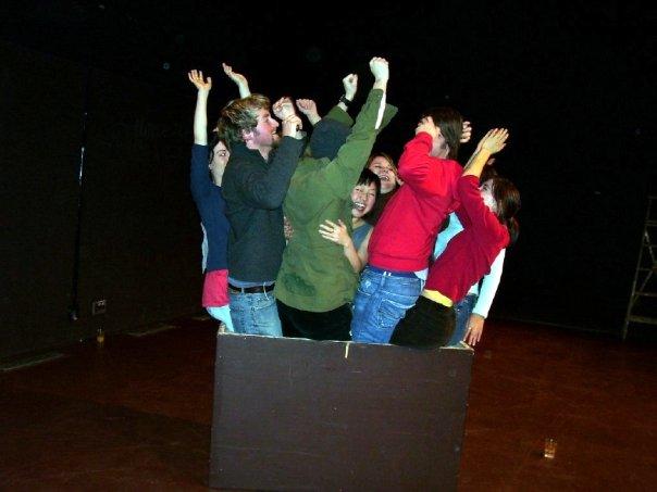 learned in theatre school