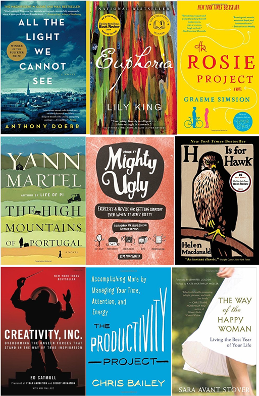 What I have been reading, learning and thinking about in the last four months. Fiction, non-fiction, art books, and a movie.