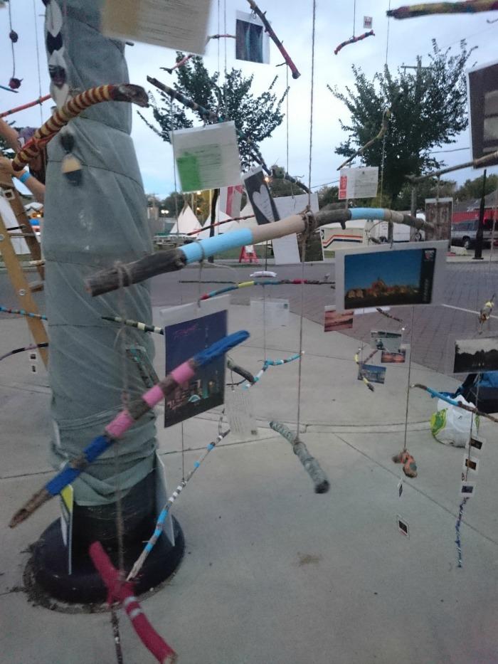 art installation at Kaleido Festival
