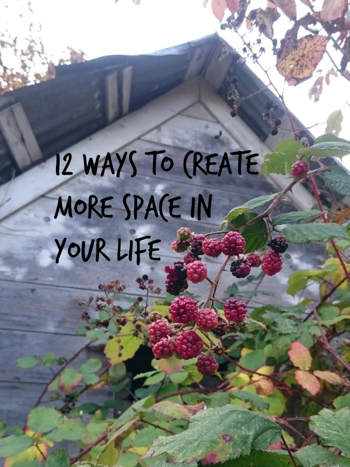 create more space