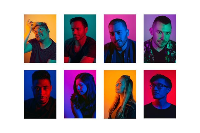 Represent!  Recent collaboration with @blendlabs and photographer @kaitlin.sullivan for #pride 🏳️🌈 . . . . #lighting #lightingdesign #sfpride #sanfrancisco #photography #portraitphotography #gels #colors