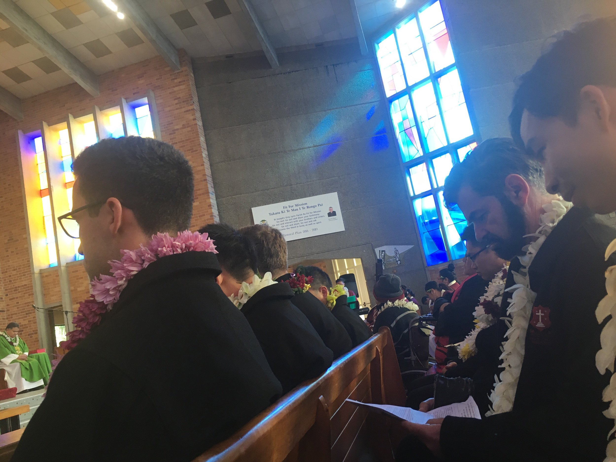 Samoan Mass at St Joseph's Grey Lynn