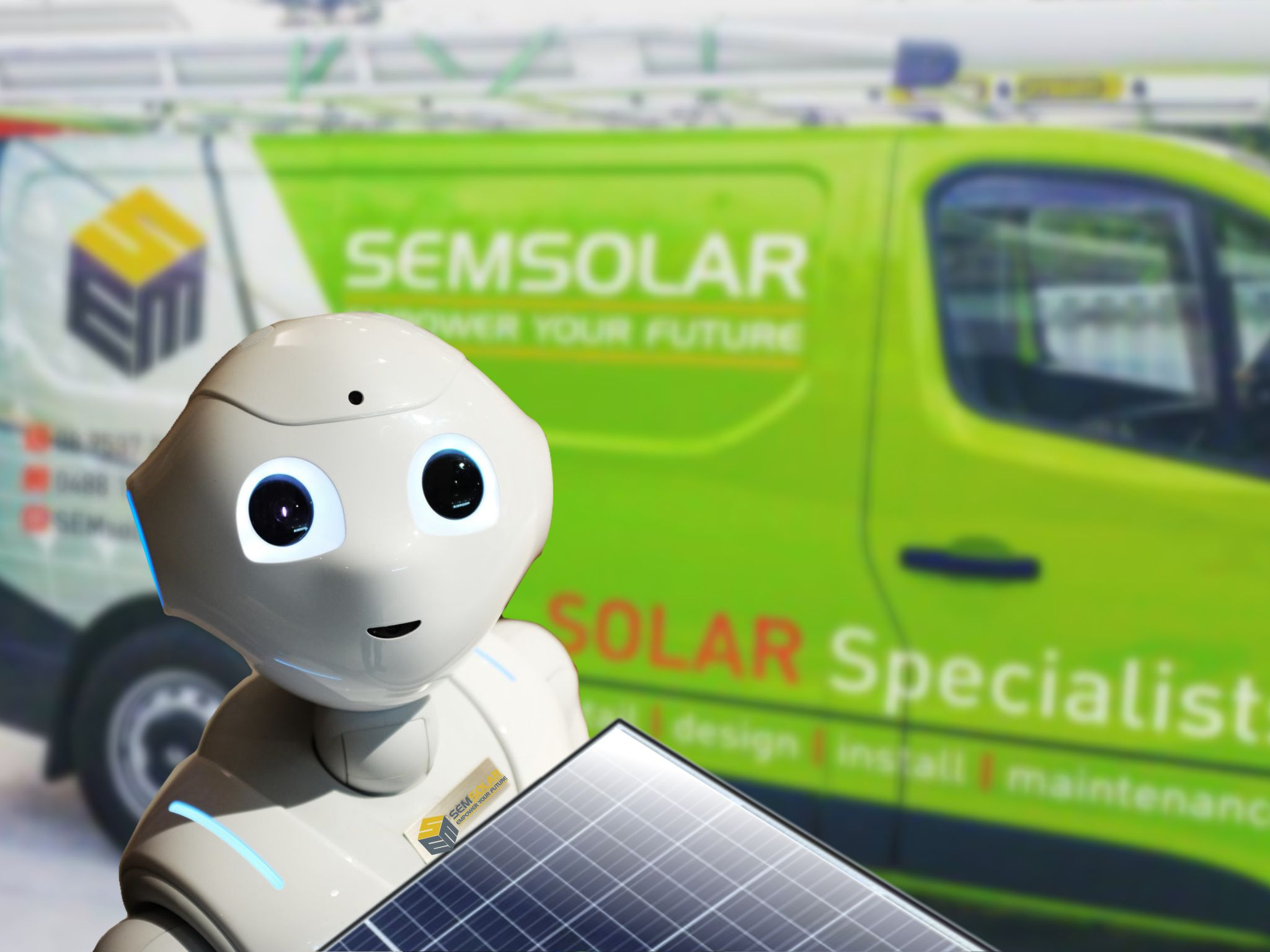 We're ready for the future - Empower your future with SEM Solar.