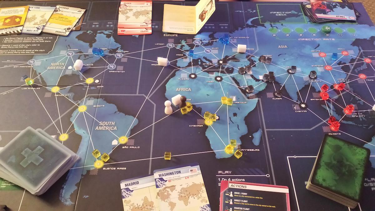 Pandemic Game. Image from  Quirky Rambler .
