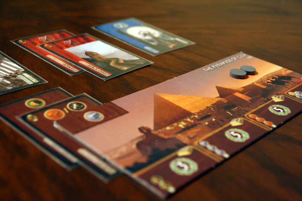 7 Wonders. Image from  Board Game Quest .
