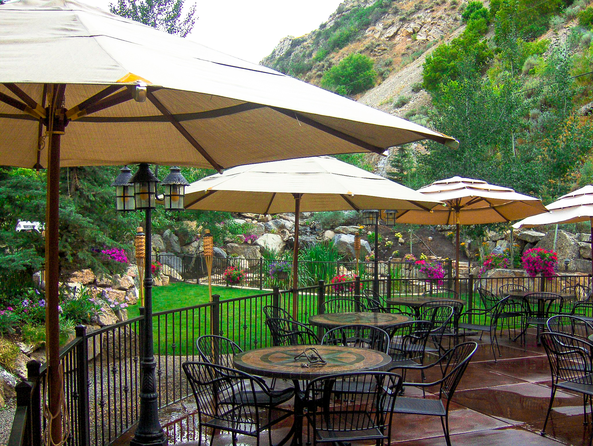 View from the Patio Seating Area