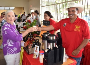 2018 Kona Coffee Cultural Festival at the Makaeo Pavillion