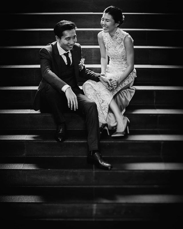 Smiling faces, lines and a touch of class. Lydia and Jem.  #kaipictureyeow for @kai_picture