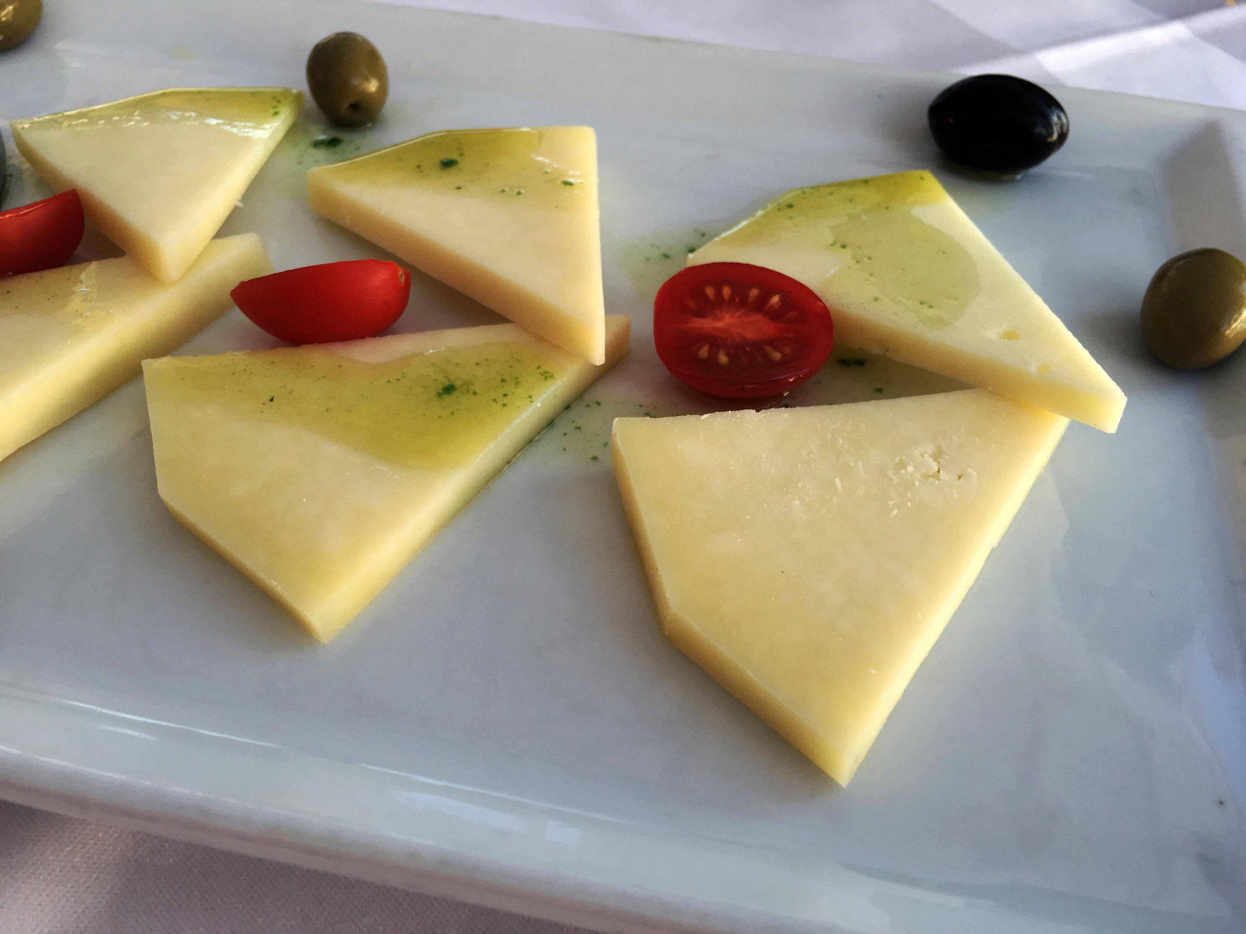 Appetizer from Gariful in Hvar