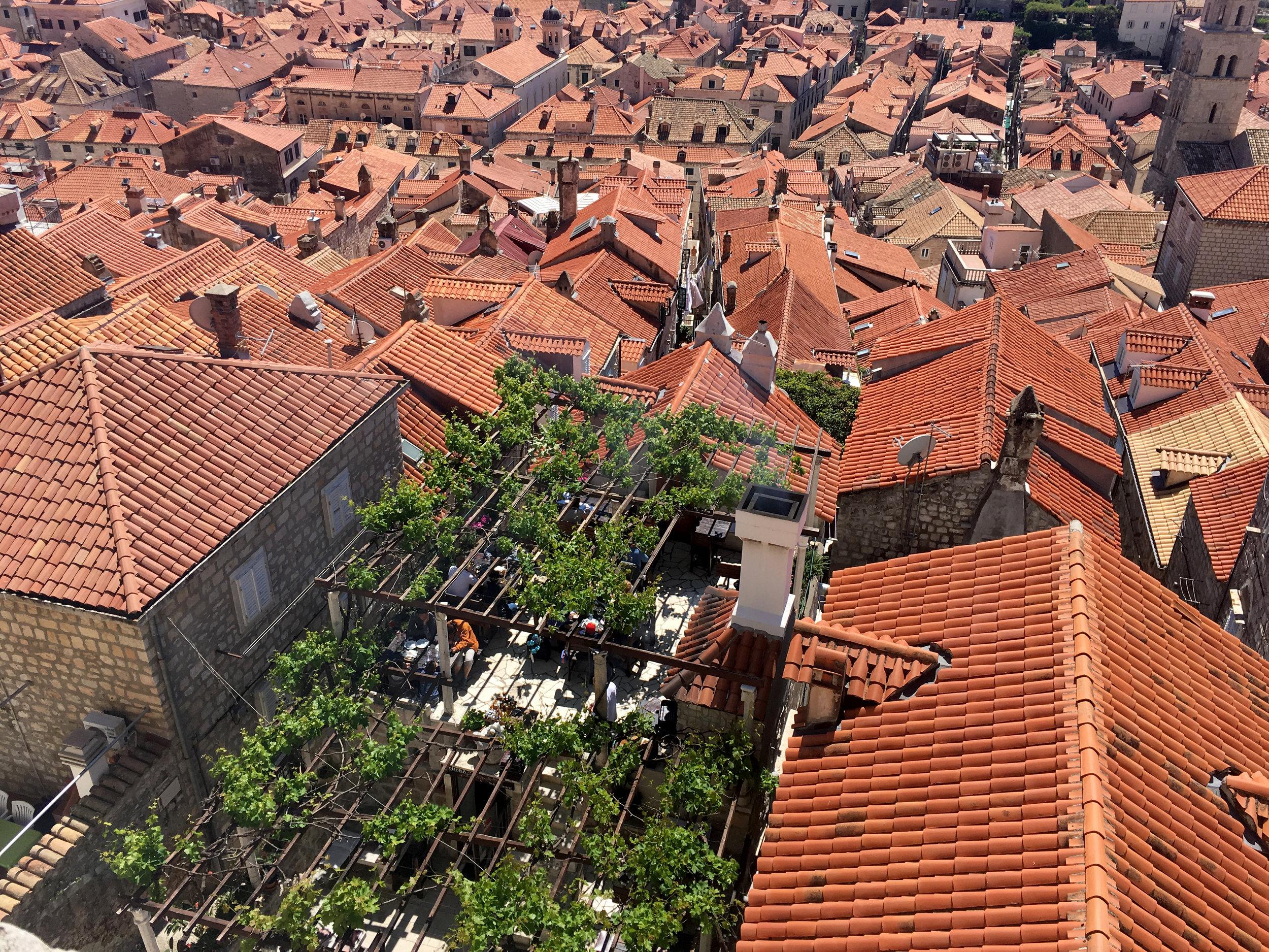 Lady Pi Pi restaurant in Dubrovnik