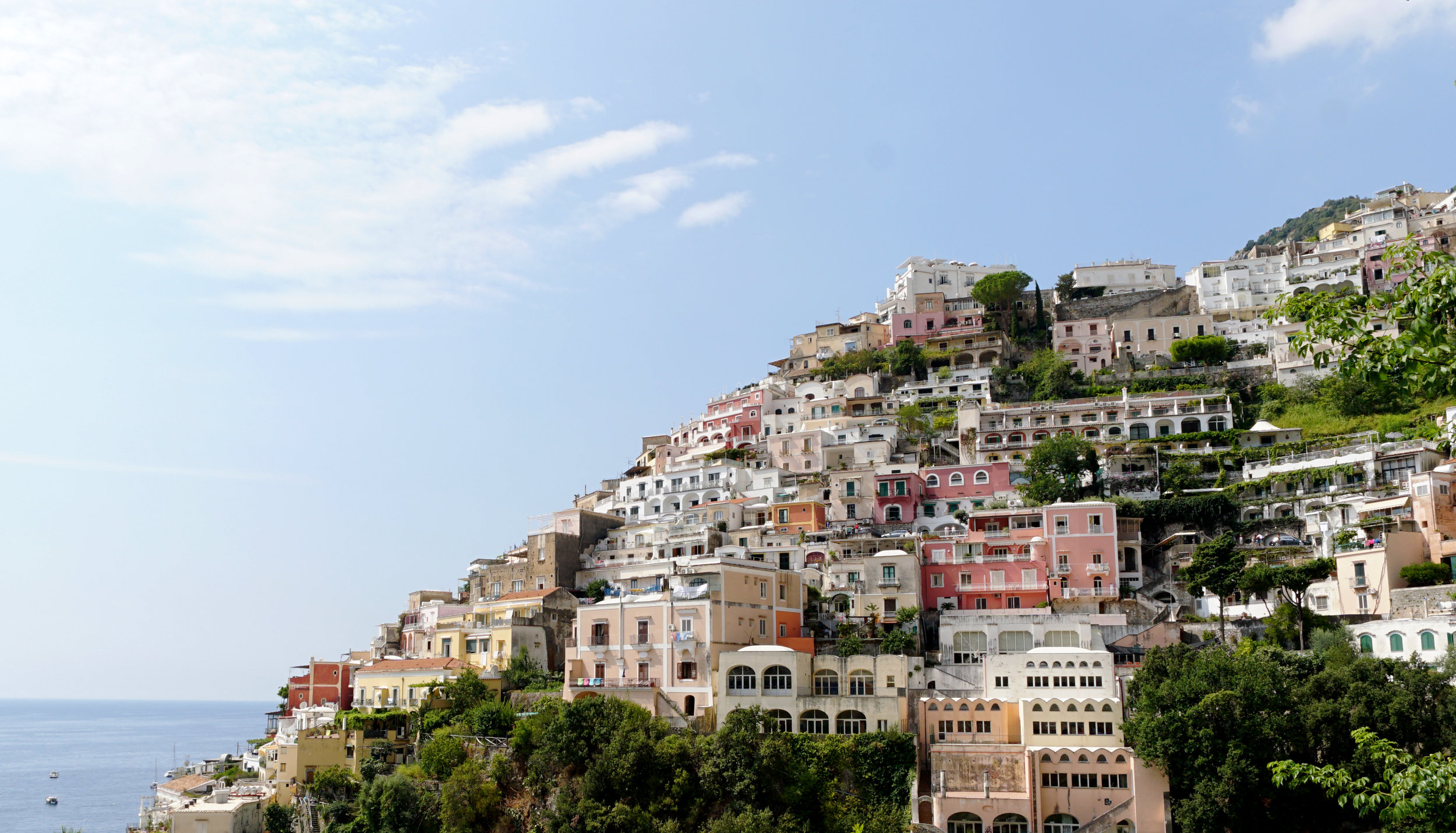 Colorful houses of Positano