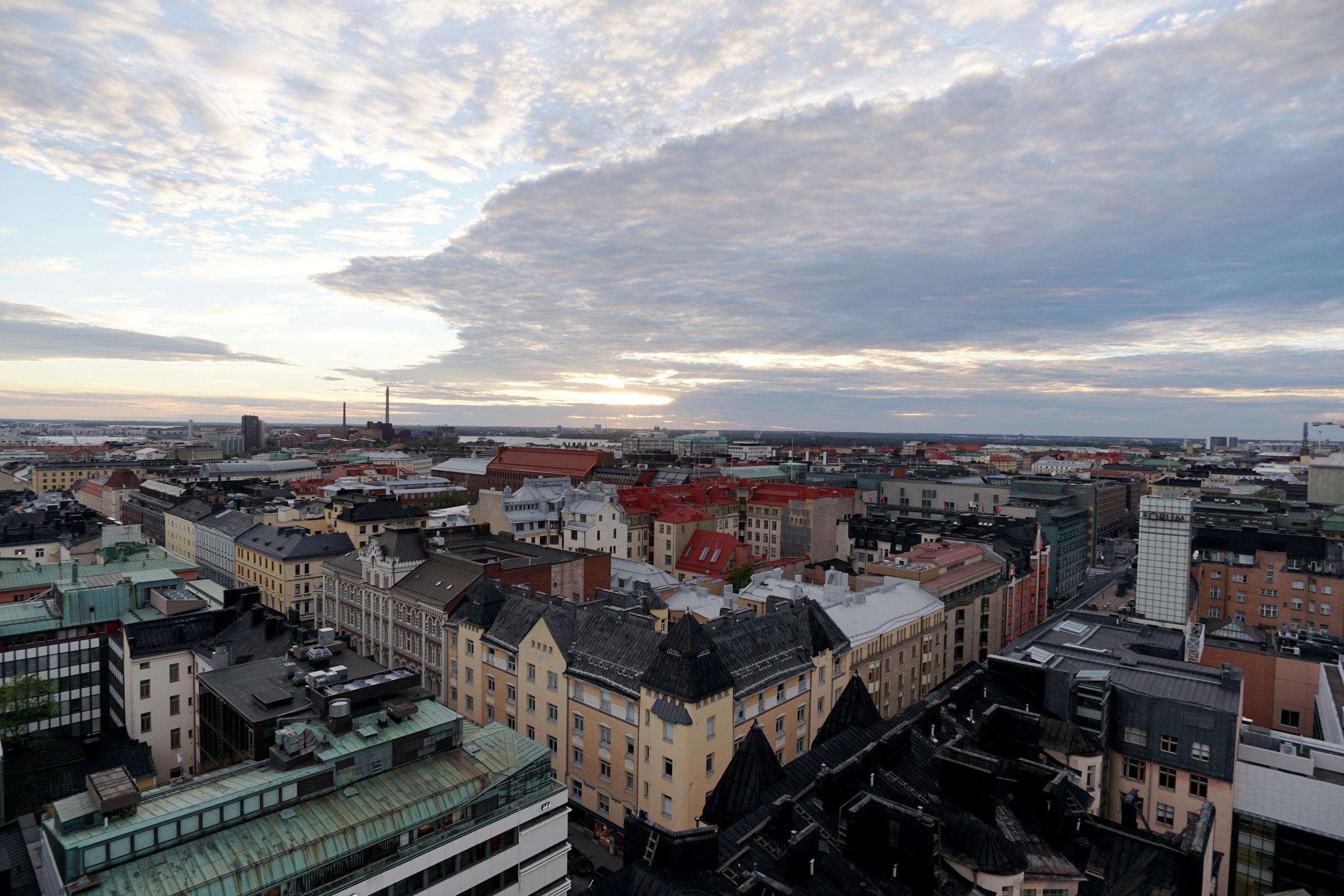 360 view of Helsinki