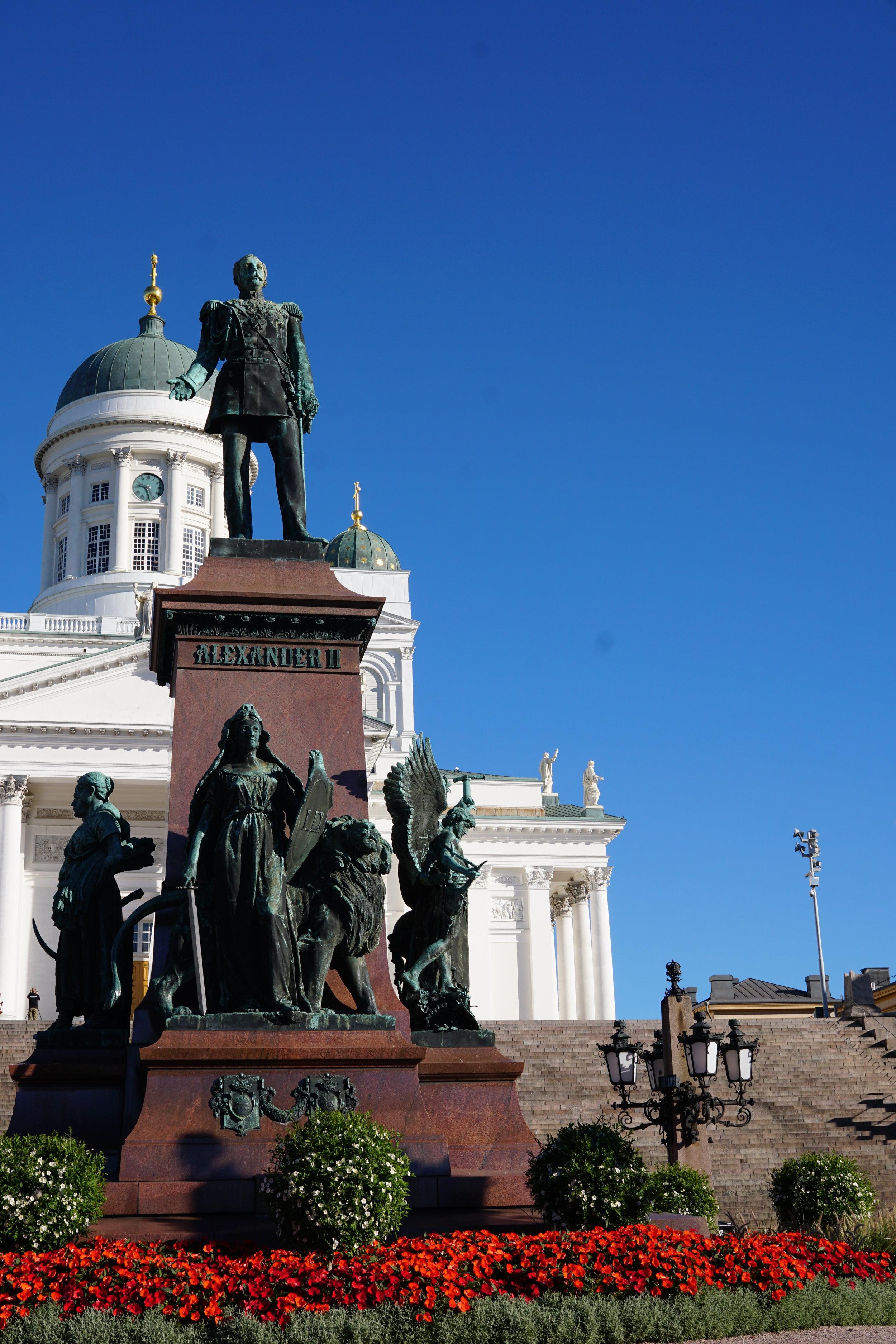 Monument for Alexander II