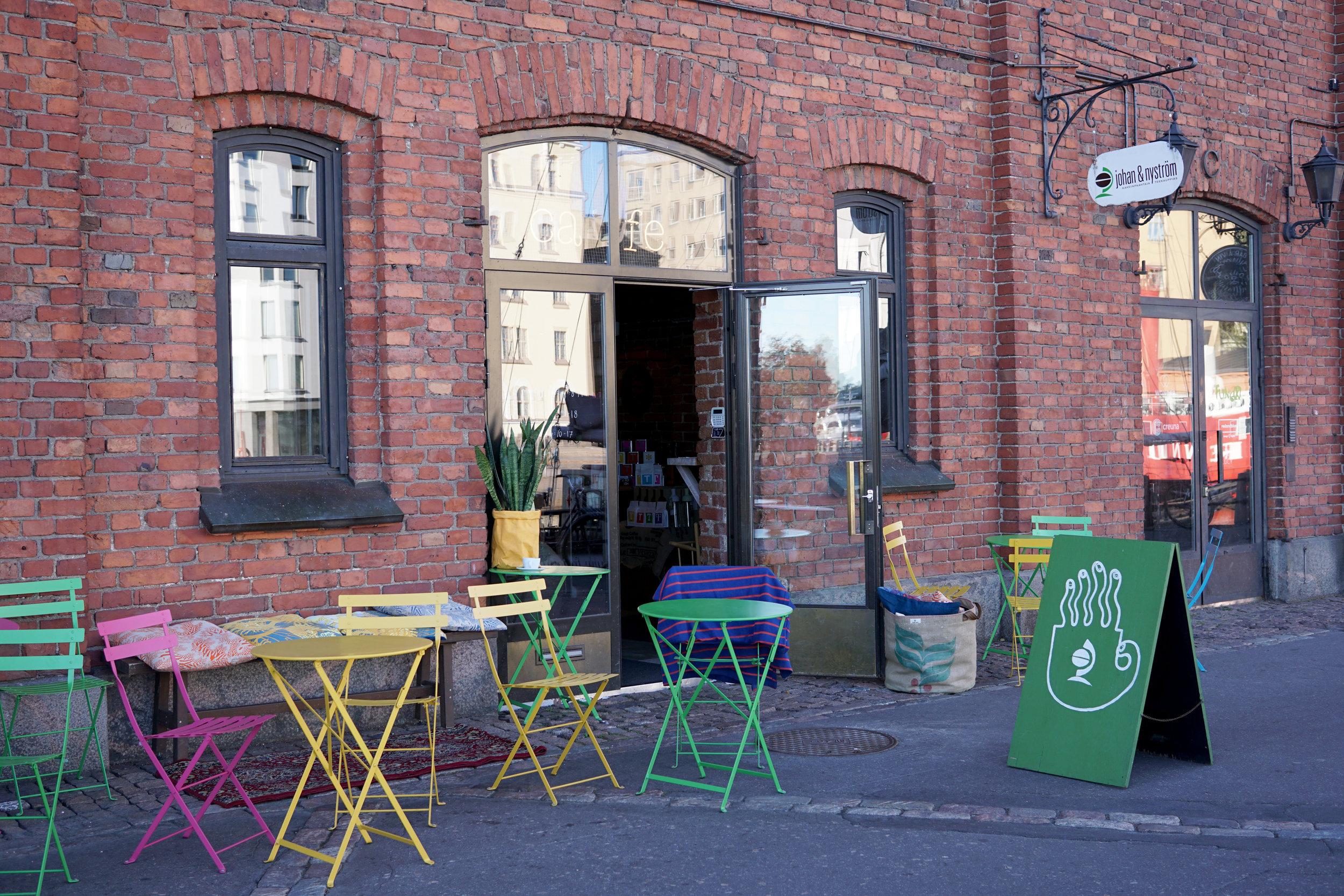 Johan & Nyström coffeehouse