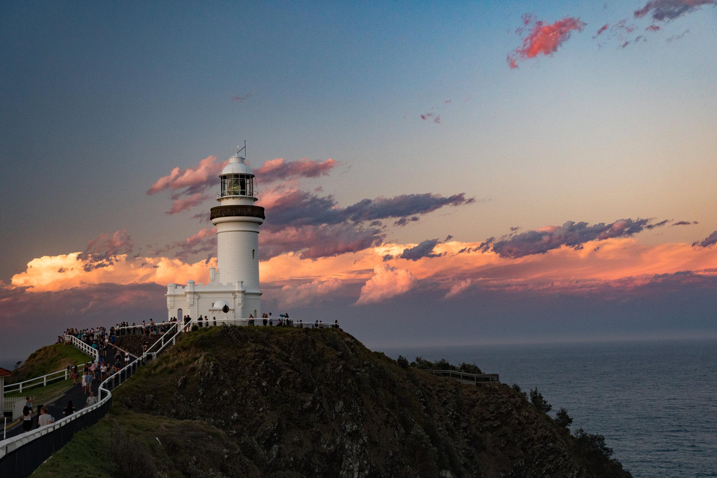 Sunset at Byron Bay Lighthouse