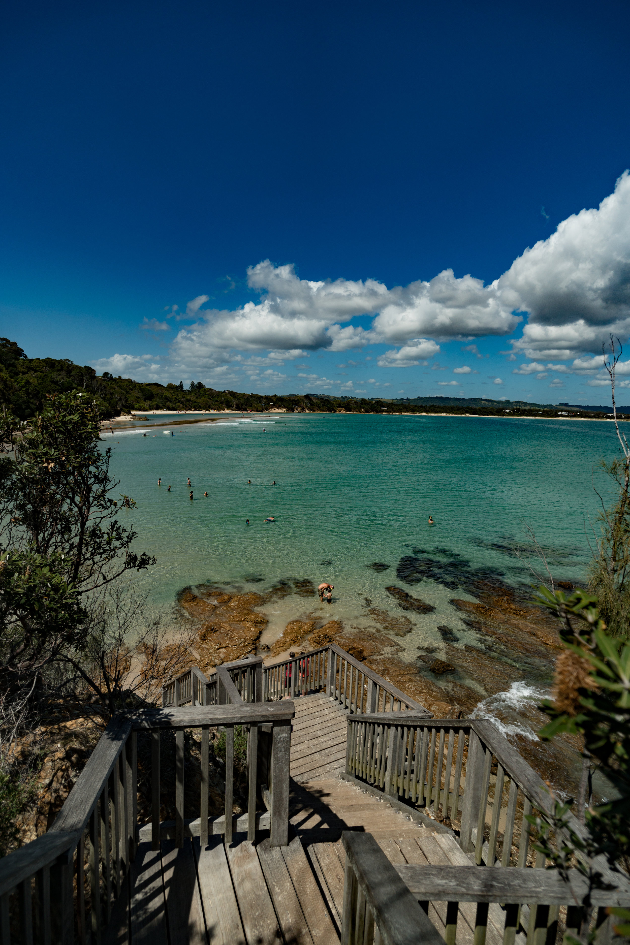 Lookout point from Byron Bay
