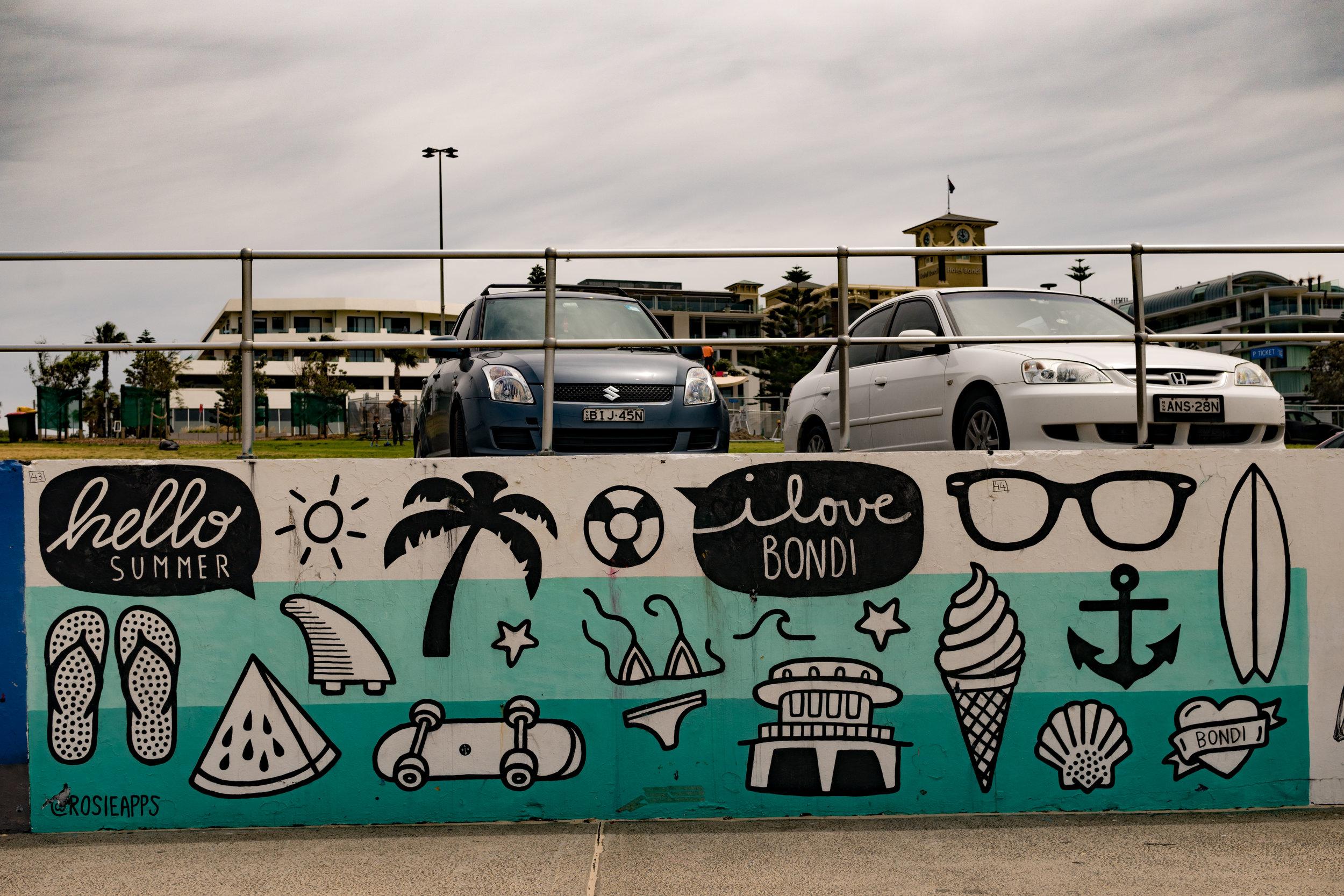 Murals at Bondi Beach