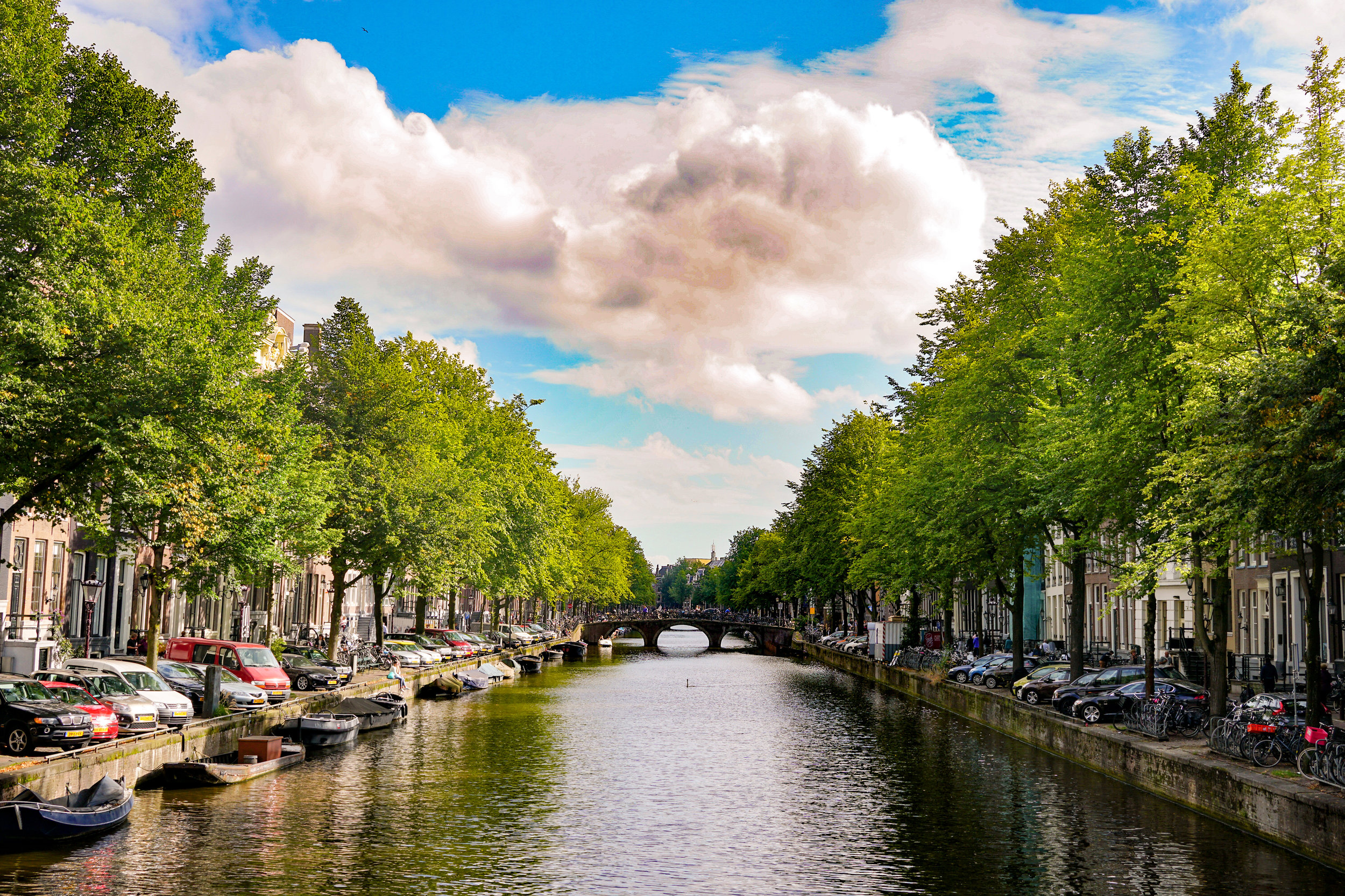 7. Amsterdam canals
